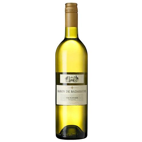 Baron de Badassière, Viognier IGP Côtes de Thau - case of 6 bottles