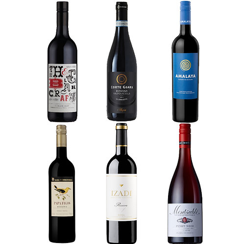 Autumn Luxury Red Selection - CASE OF 6 BOTTLES