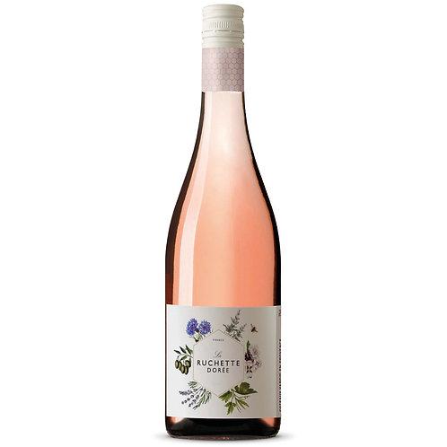 La Ruchette Dorée, Côtes du Rhône Rosé, France 2019 - case of 6 bottle