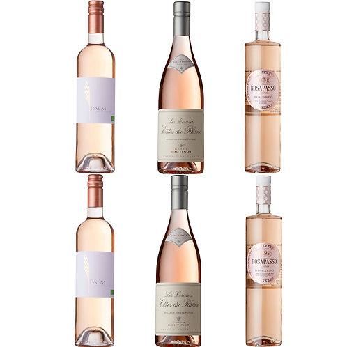 Luxury  Summer Rosé Selection - CASE OF 6 BOTTLES
