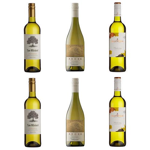 Chardonnay Selection - case of 6 bottles