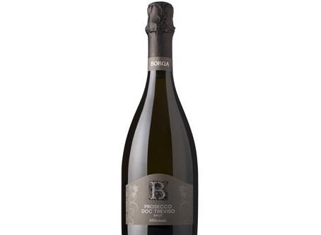 Borga Prosecco Treviso Brut Millesimato, Italy - August 2018 Wine of the Month