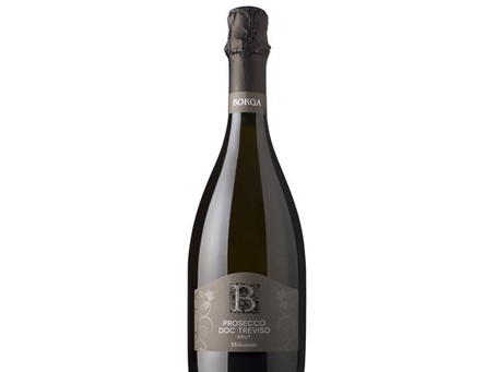 Borga Prosecco Treviso Brut Millesimato, Italy - August 2018 Wine of the Month