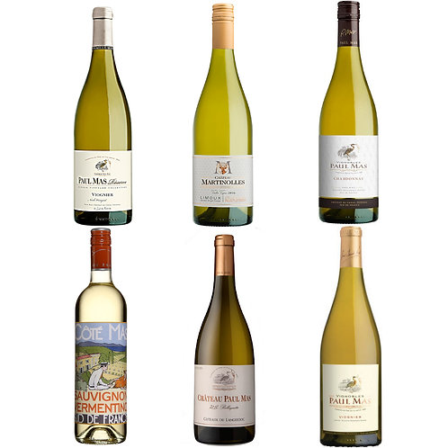 Paul Mas White Taster Selection-  Case of 6 bottles