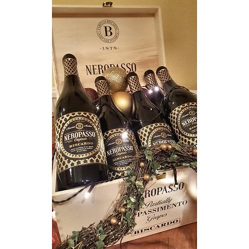 Biscardo Neropasso, IGT Veneto, Italy 2018 - case of 6 ( Wooden Gift Box)