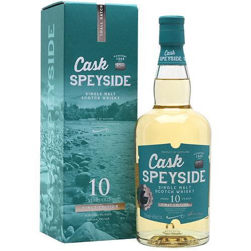 A. D Rattray 10 Year Old Cask Speyside Single Malt Whisky