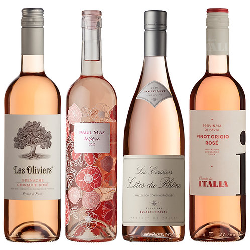 Everyday Mixed Rosé Selection - mixed case of 12 bottle