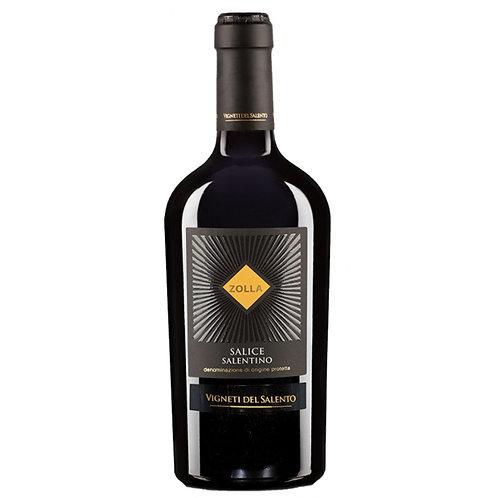 Vigneti del Salento `Zolla` Salice Salentino, Italy - case of 6 bottles