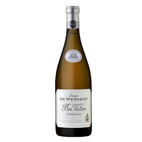 """De Wetshof Estate """"Bon Vallon""""  Sur Lie Chardonnay, Robertson, South Africa 2019"""