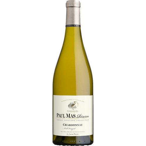 "Paul Mas Reserve Chardonnay"" Nicole Vineyard, Pays d'Oc, France 2019- Case of 6"