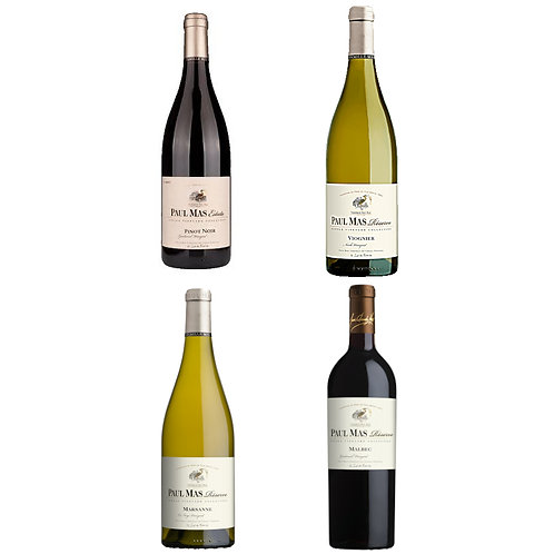 Paul Mas Single Vineyard Mix - case of 4 bottles