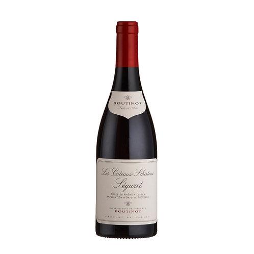 'Les Coteaux Schisteux', Séguret Côtes du Rhône, France - case of 6 bottles