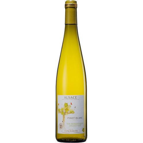 Cave de Turckheim Organic Pinot Blanc, Alsace, France 2018 - Case of 6 bottles
