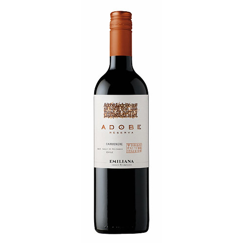 Adobe Reserva Carmenère, Colchagua Valley, Chile - case of 6 bottles