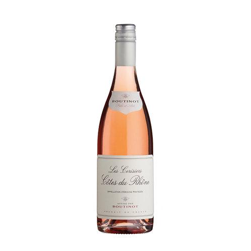 Boutinot 'Les Cerisiers', Côtes du Rhône Rosé, France - case of 6 bottles