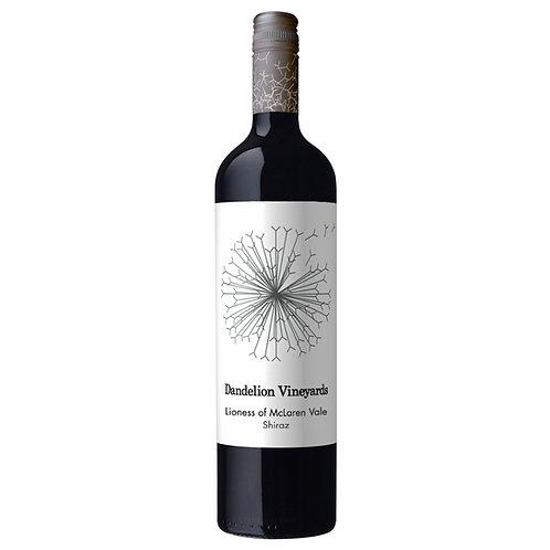 Dandelion Vineyards, `Lioness of McLaren Vale` Shiraz 2017 - case of 6 bottles