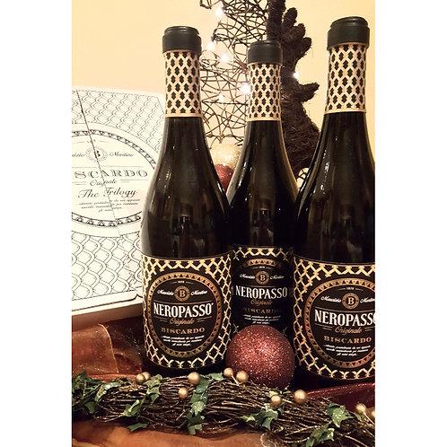 Trio of Biscardo Neropasso, IGT Veneto, Italy 2018 - Case of 3 bottles