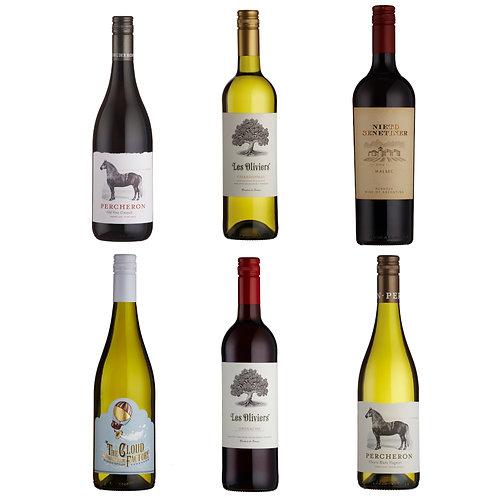 Everyday Favourites - mixed case of 6 bottles