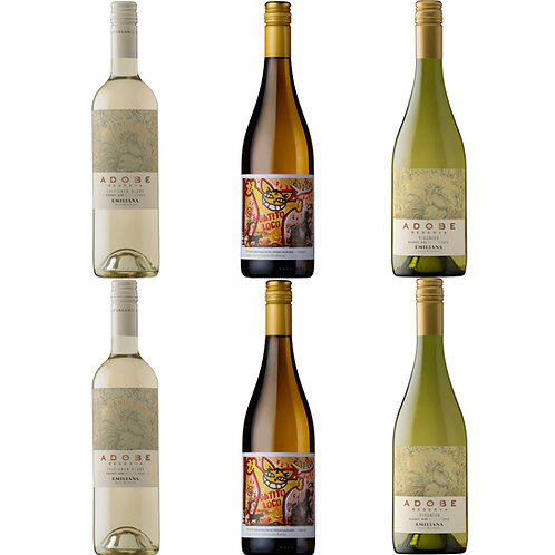 Organic White Selection - case of 6 bottles