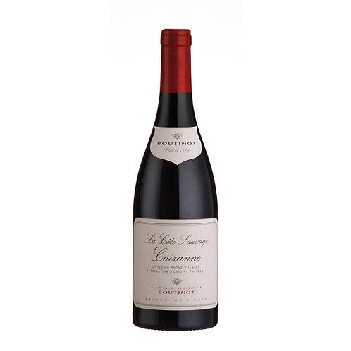 Boutinot 'La Côte Sauvage', Cairanne Côtes du Rhône Villages - case of 6 bottles