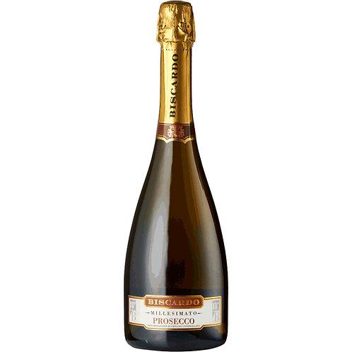 Mabis, Biscardo Prosecco Spumante Millesimato, DOC, Veneto,  - case of 6 bottles