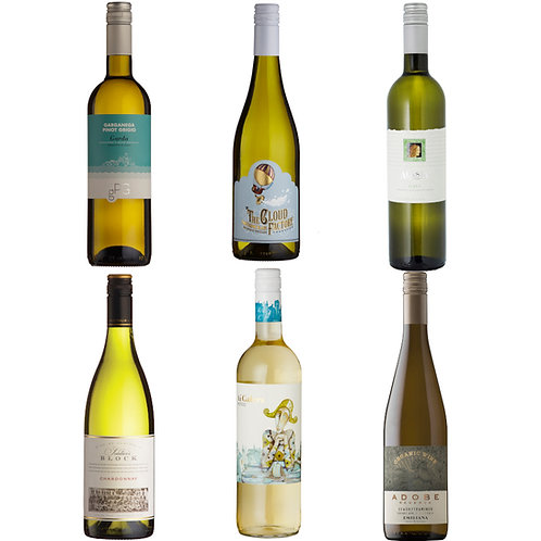 Summer White Selection - mixed case of 6 bottles