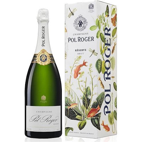 MAGNUM - Pol Roger Brut Reserve Champagne N/V (Single bottle)