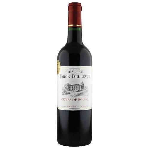 Château Baron Bellevue, Côtes de Bourg 2014 - case of 6 bottles