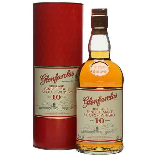Glenfarclas 10Yr Old Single Malt. Speyside