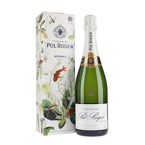 Pol Roger Brut Réserve Champagne, France NV - single bottle