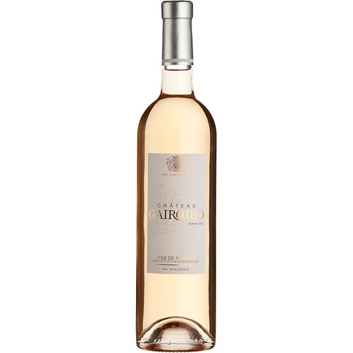 Château Gairoird Rosé, Côtes de Provence [Organic] 2019 - case of 6 bottles