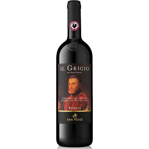 San Felice Il Grigio Chianti Classico Riserva, Italy 2017 - case of 6 bottles