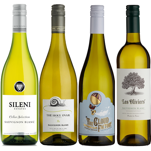 Mouth-Watering Sauvignon Selection - CASE OF 12 BOTTLES