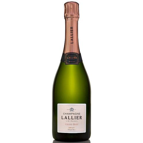 Champagne Lallier Grand Rosé, Grand Cru Brut NV - case of 6 bottles
