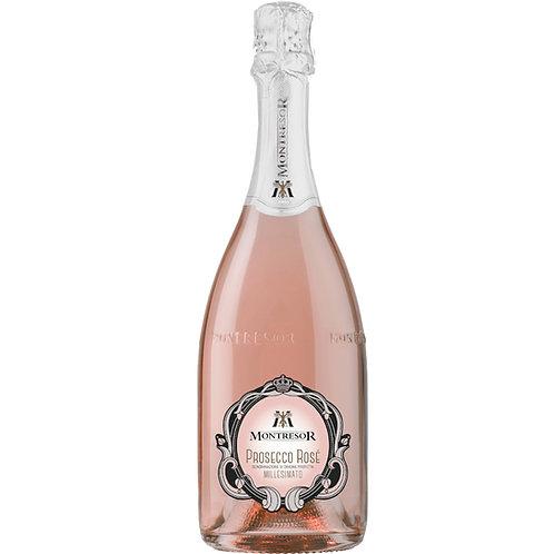 Montresor Prosecco Rosé Extra Dry 2019, Veneto, Italy - CASE OF 12 BOTT