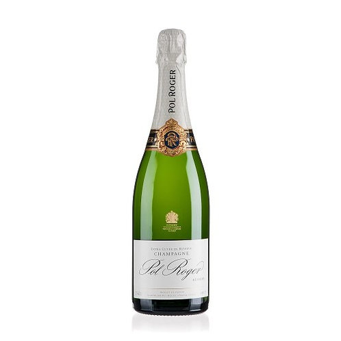 Pol Roger Brut Réserve Champagne, France NV Gift Boxed -  CASE OF 6 BOTTLES