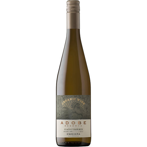 Organic Adobe Reserva Gewürztraminer, Rapel Valley [Organic] 2019 - case of 6 bo