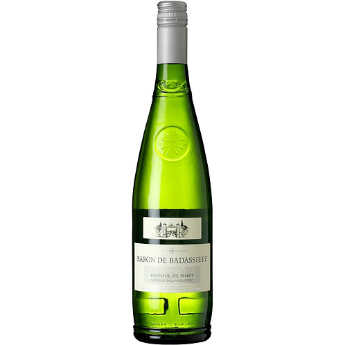 Baron de Badassière Picpoul de Pinet, Languedoc, France-CASE OF 6 BOTTLES