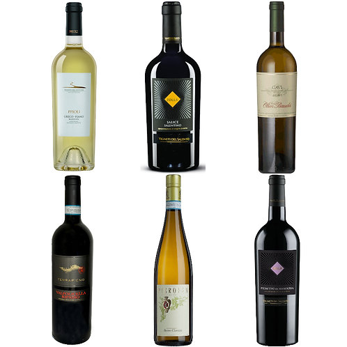 Luxury Italian Selection - mixed case of 6 bottles