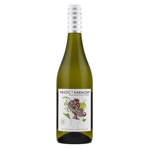 Havoc & Harmony Marlborough Sauvignon Blanc, New Zealand 2019 - case of 6 bottle
