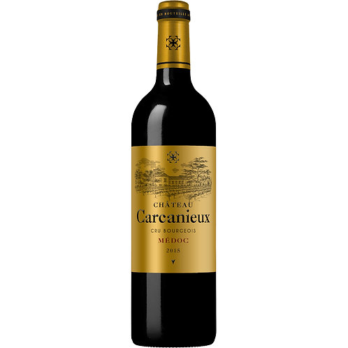 Château Carcanieux, Cru Bourgeois Médoc 2015 - Case of 6 bottles
