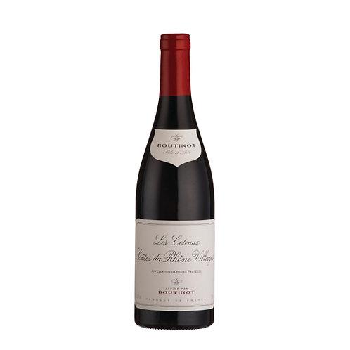 Boutinot 'Les Coteaux' Côtes du Rhône Villages, France, 2019 - case of 6 bottles