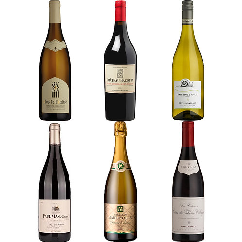 Super Deluxe French Mix (Mixed Case) Case of 12 Bottles
