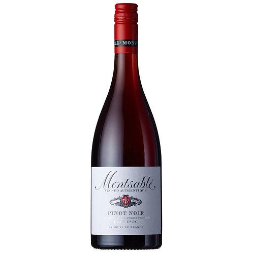 Montsablé Pinot Noir, IGP d'Oc, France  - case of 6 bottles