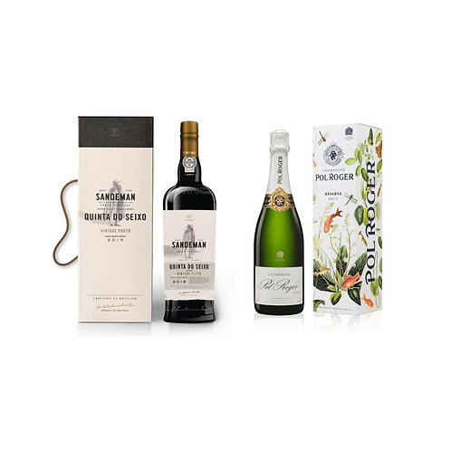 Extravagant Weekend Champagne/Port Duo