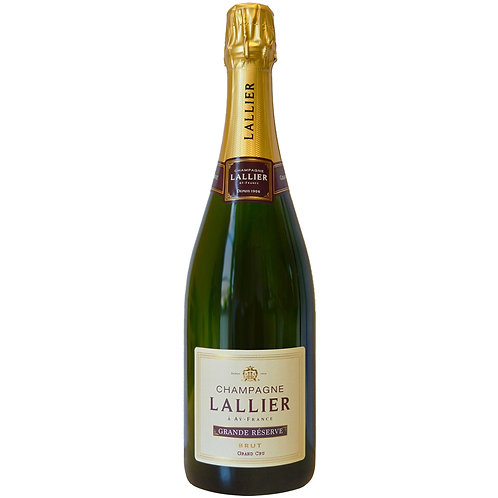 Champagne Lallier Grand Cru Grande Réserve Brut 75cl - Case of 6 bottles