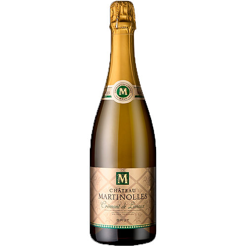 Chateau Martinolles  Cremant, AOP Limoux Blanc N/V CASE OF 6 BOT