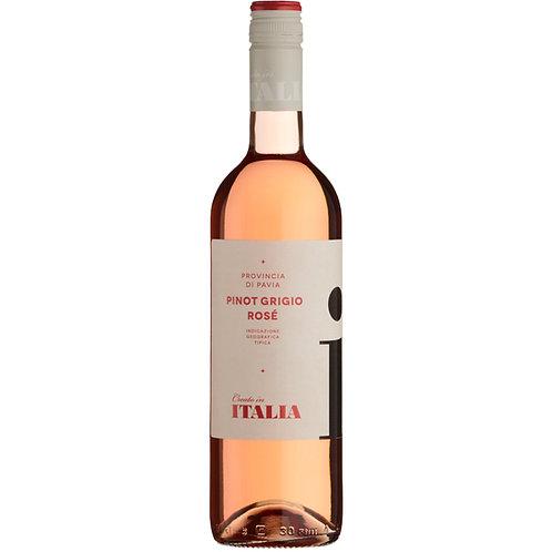 Italia Pinot Grigio Rosé, IGT Provincia di Pavia, Italy 2018 - case of 6 bottles