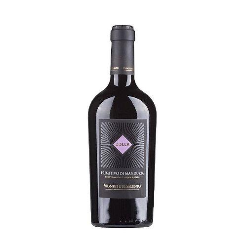 Vigneti del Salento `Zolla` Primitivo di Manduria, Italy - case of 6 bottles