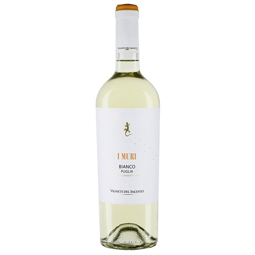 Vigneti del Salento `I Muri` Bianco, Italy - case of 6 bottles
